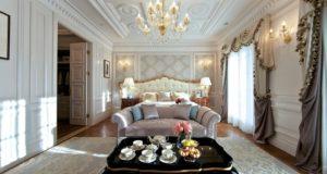Спальни в классическом стиле (75+ фото): роскошь, блеск и комфорт