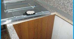 Как правильно установить варочную панель в столешницу