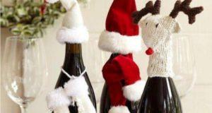 Украшаем бутылку шампанского на Новый 2021 год : эффектный аксессуар и идеальный подарок своими руками