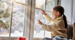 Как украсить окно на Новый год 2021? Подборка идей и простых мастер-классов своими руками