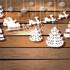 Трафареты на Новый год 2021: варианты праздничного декора и лучшие идеи своими руками
