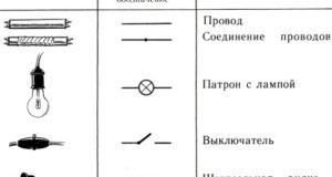 Условные обозначения в электрических схемах. Как обозначаются основные элементы в электрических схемах