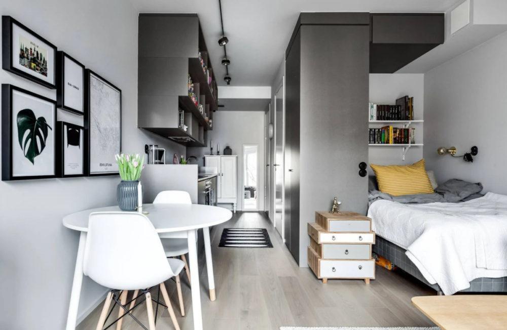 Интерьерные особенности в небольшой квартире